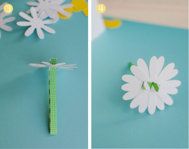 how to make a daisy chain out of paper