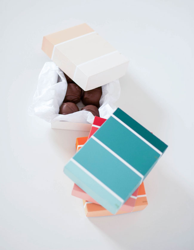 paint chip candy box tutorial